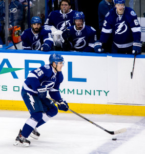 Carle is out for 6-8 weeks, a blow to the Lightning defense/ANDREW J. KRAMER