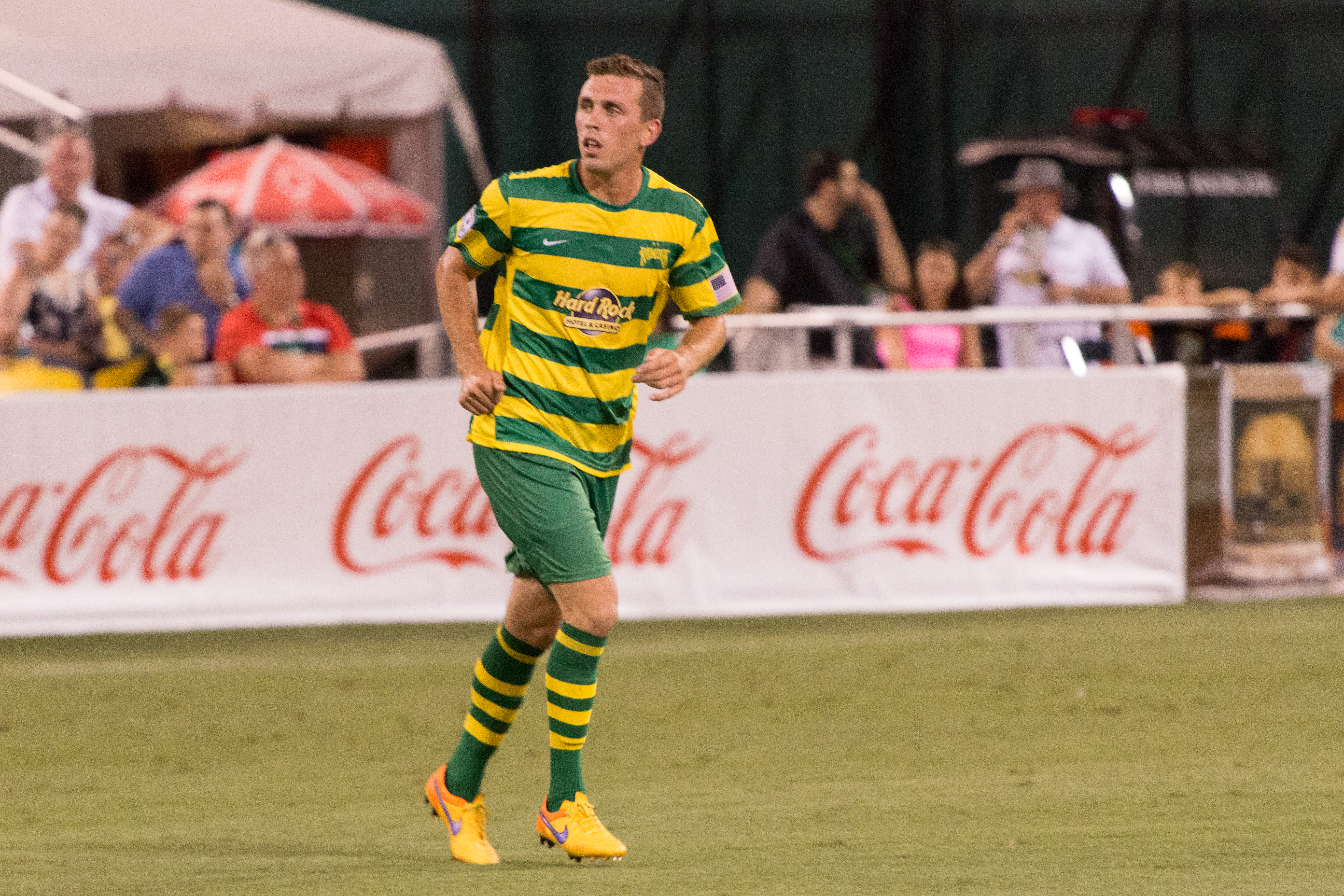 Hertzog scored the first goal for the Rowdies./JEFFREY S. KING