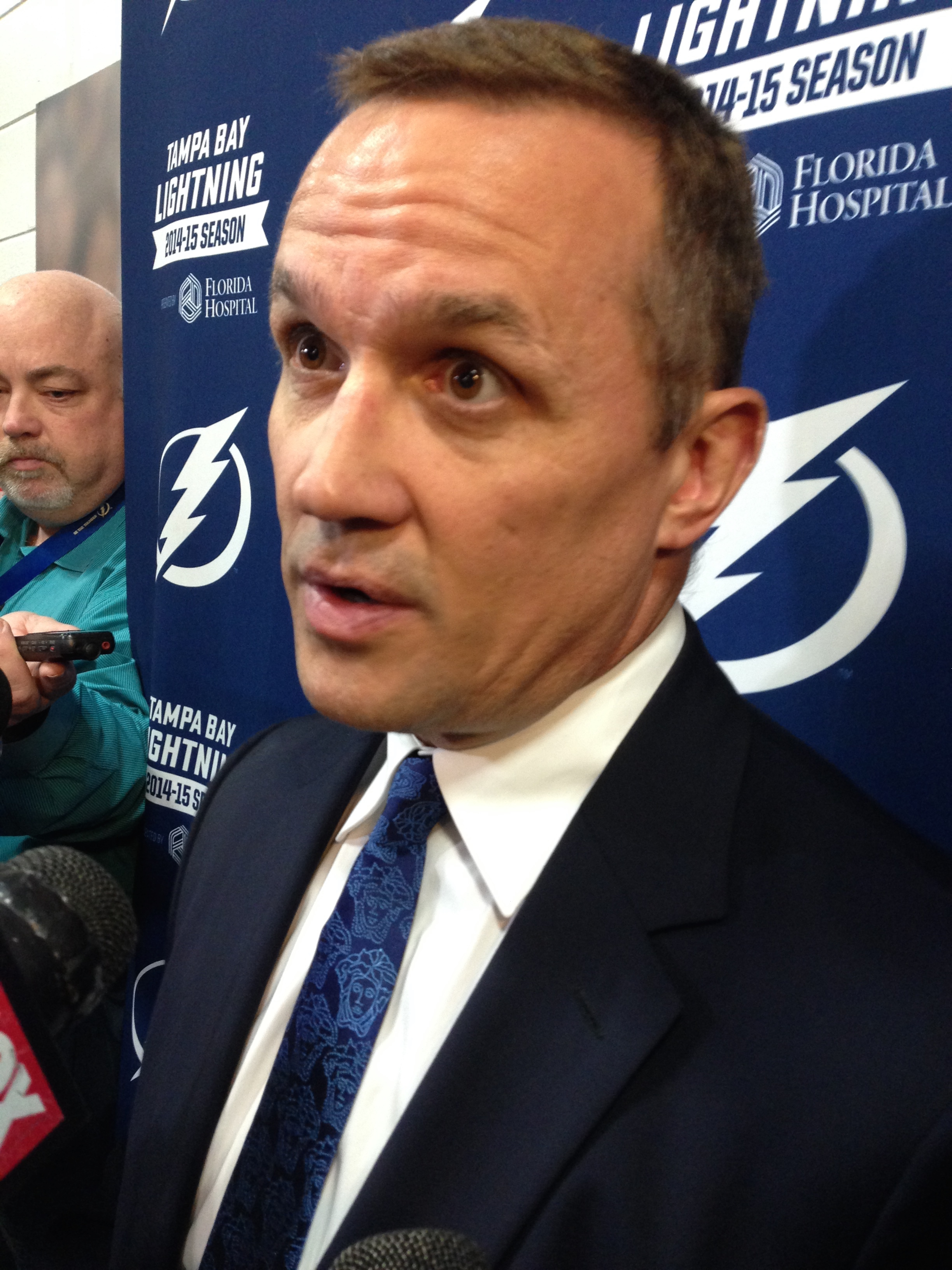 Yzerman may be the MVP of the Lightning.