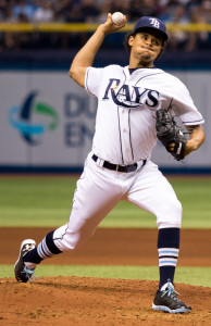 Archer finally lost for the Tampa Bay Rays./ANDREW J. KRAMER