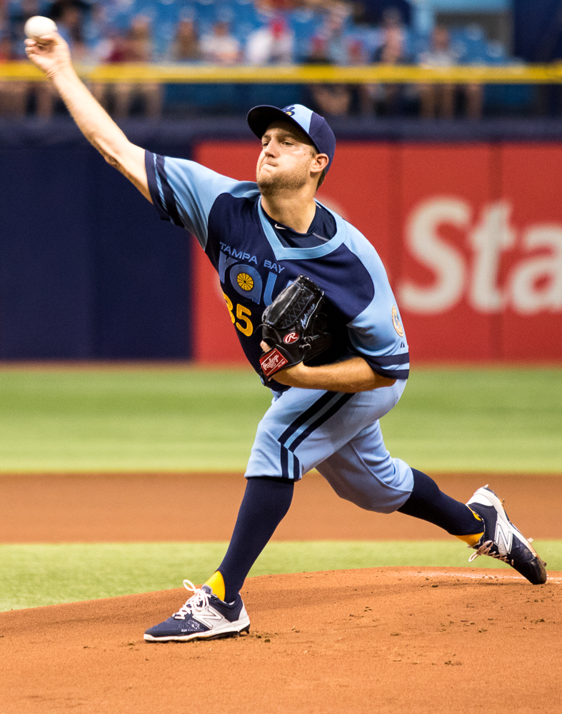 Andriese threw a one-hit shutout over his six innings of work./ANDREW J. KRAMER