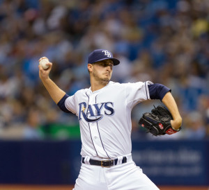 Odorizzi fit right back in with the Rays on Saturday./JEFFREY S. KING