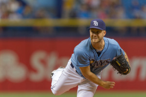 Boxberger saved all three games of the series against the Astros./JEFFREY S. KING