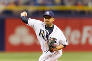 Ramirez has become the Rays' second-best starter./JEFFREY S. KING