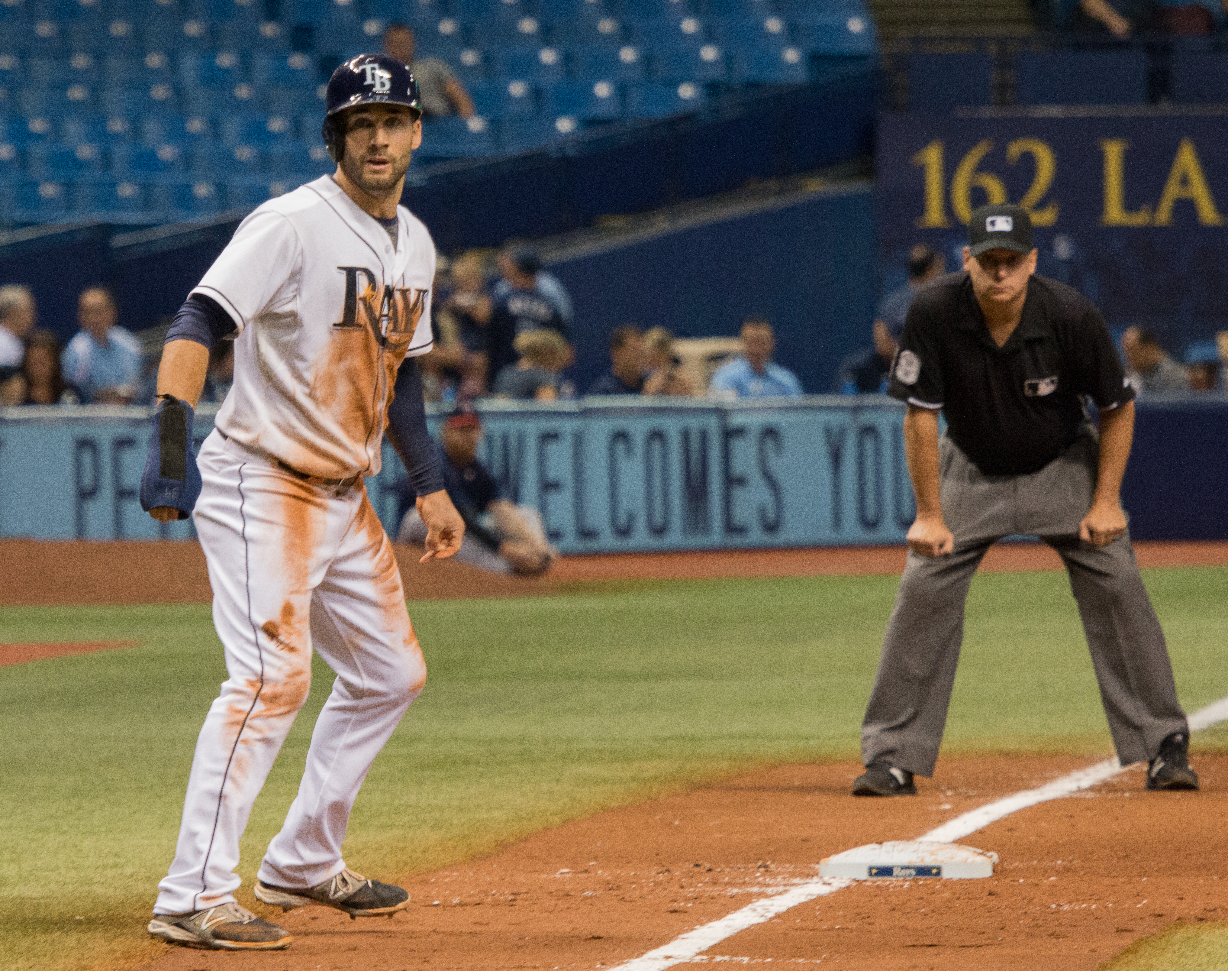 Kiermaier is suddenly one the Rays' hottest hitters./JEFFREY S. KING
