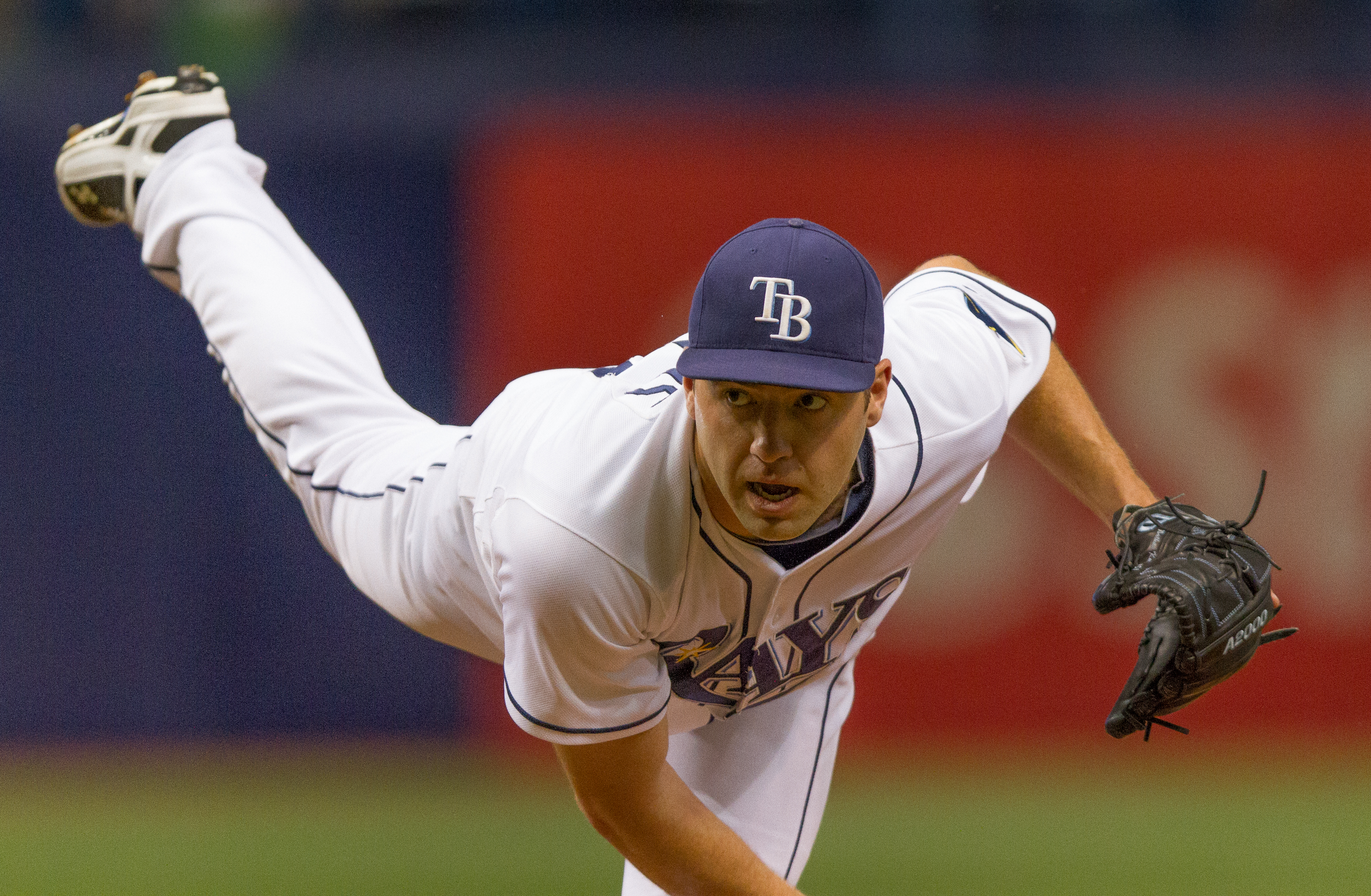 Nathan Karns was wild and ineffective vs. Twins./JEFFREY S. KING