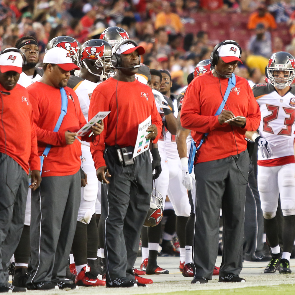 Bucs' coaches must figure their defense out./ANDREW J. KRAMER