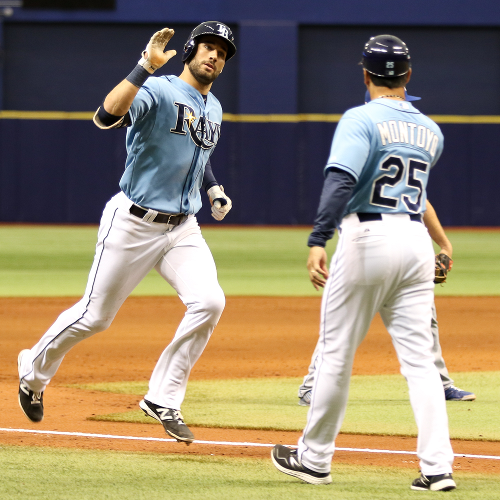 Kiermaier says he's just getting started. ./ANDREW J. KRAMER
