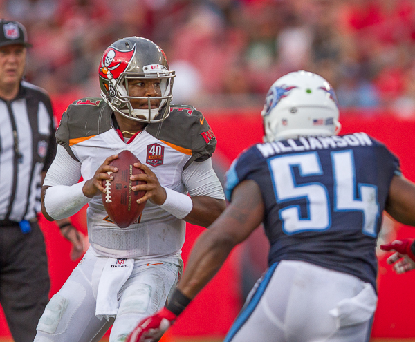 Winston had a rough debut for the Bucs Sunday/JEFFREU S. KING