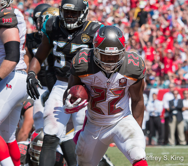 Doug Martin seems quicker, more determined.