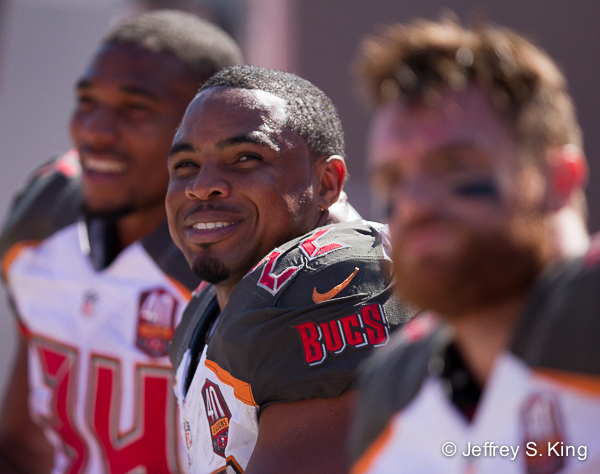 Martin has given the Bucs something to smile about this season.