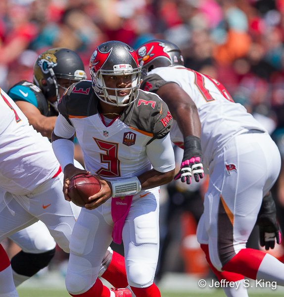 Winston will enter Panthers game on a short week./JEFFREY S. KING