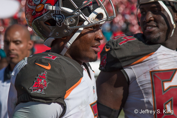 If you compare him to other Bucs' quarterbacks, Winston's start is solid./JEFFREY S. KING