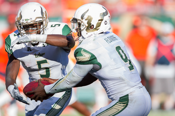 Flowers, Mack lead USF offensive once more./JEFFREY S. KING