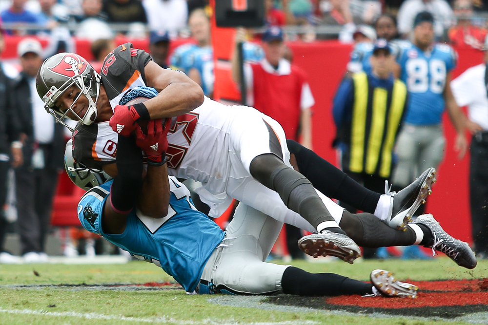 Vincent Jackson caught  19 passes for 147 yards,/ANDREW J. KRAMER