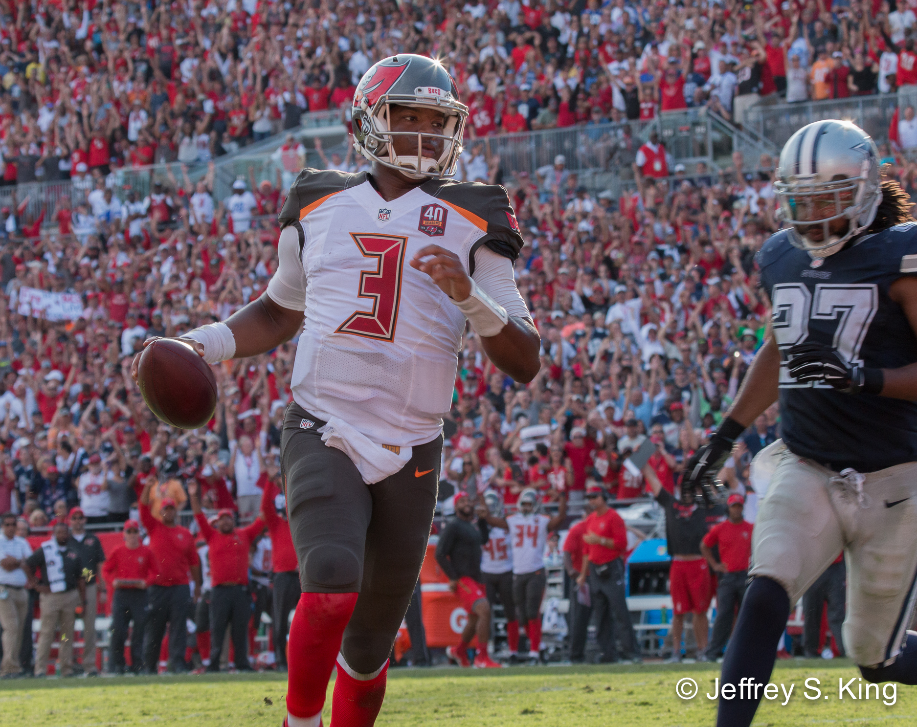 The Bucs eagerly await to see improvement from Winston.