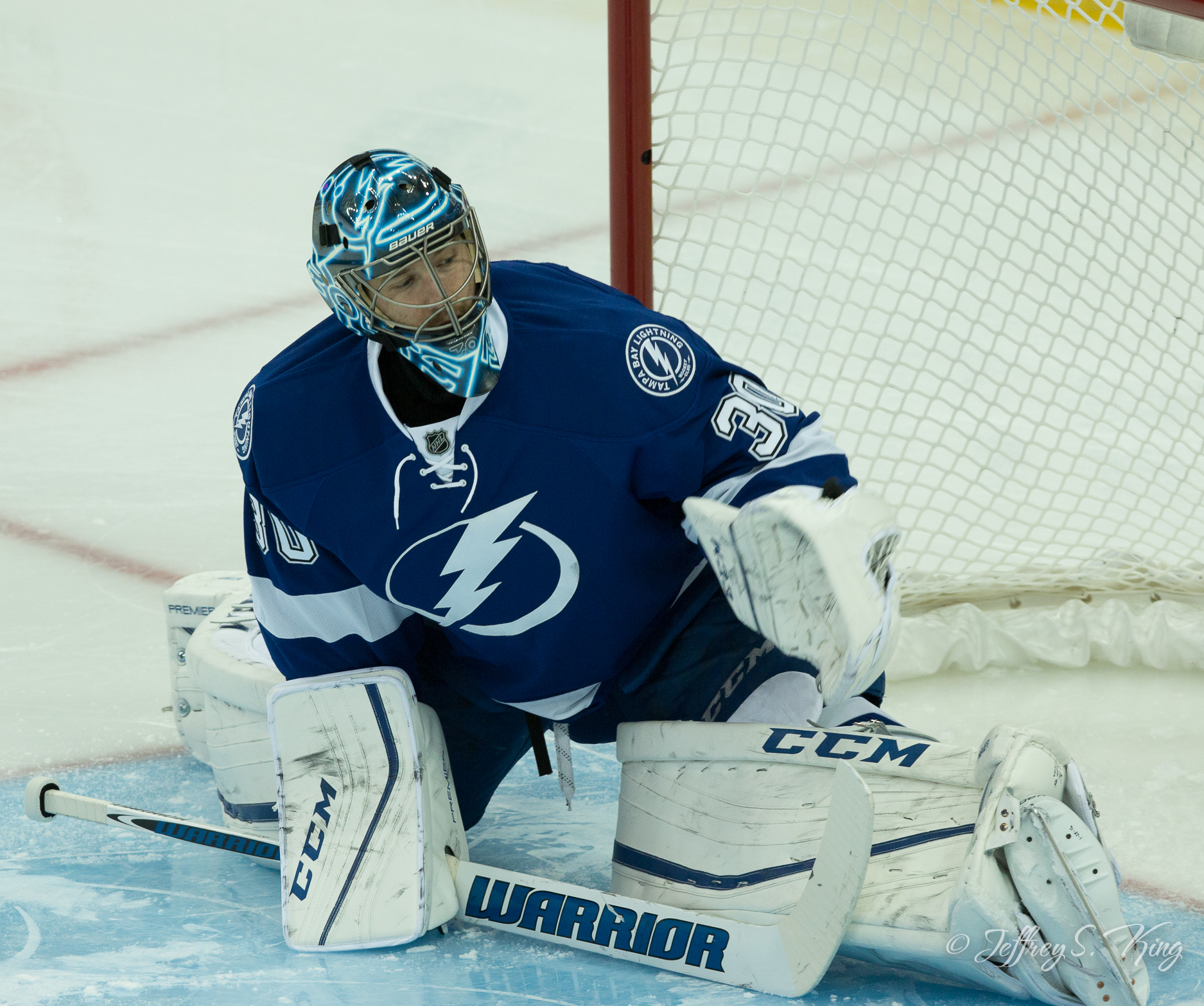 These days, Bishop has to be perfect for the Bolts to win,/ANDREW KRAMER