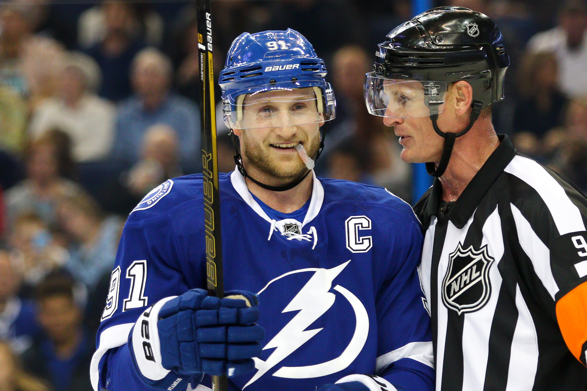 Lightning have learned to play without Stamkos./TRAVIS PENDERGRASS