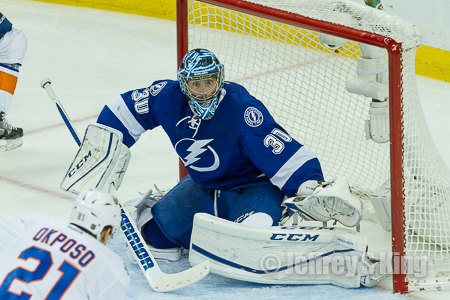 The Lightning won despite losing Ben Bishop. But when will he be back.
