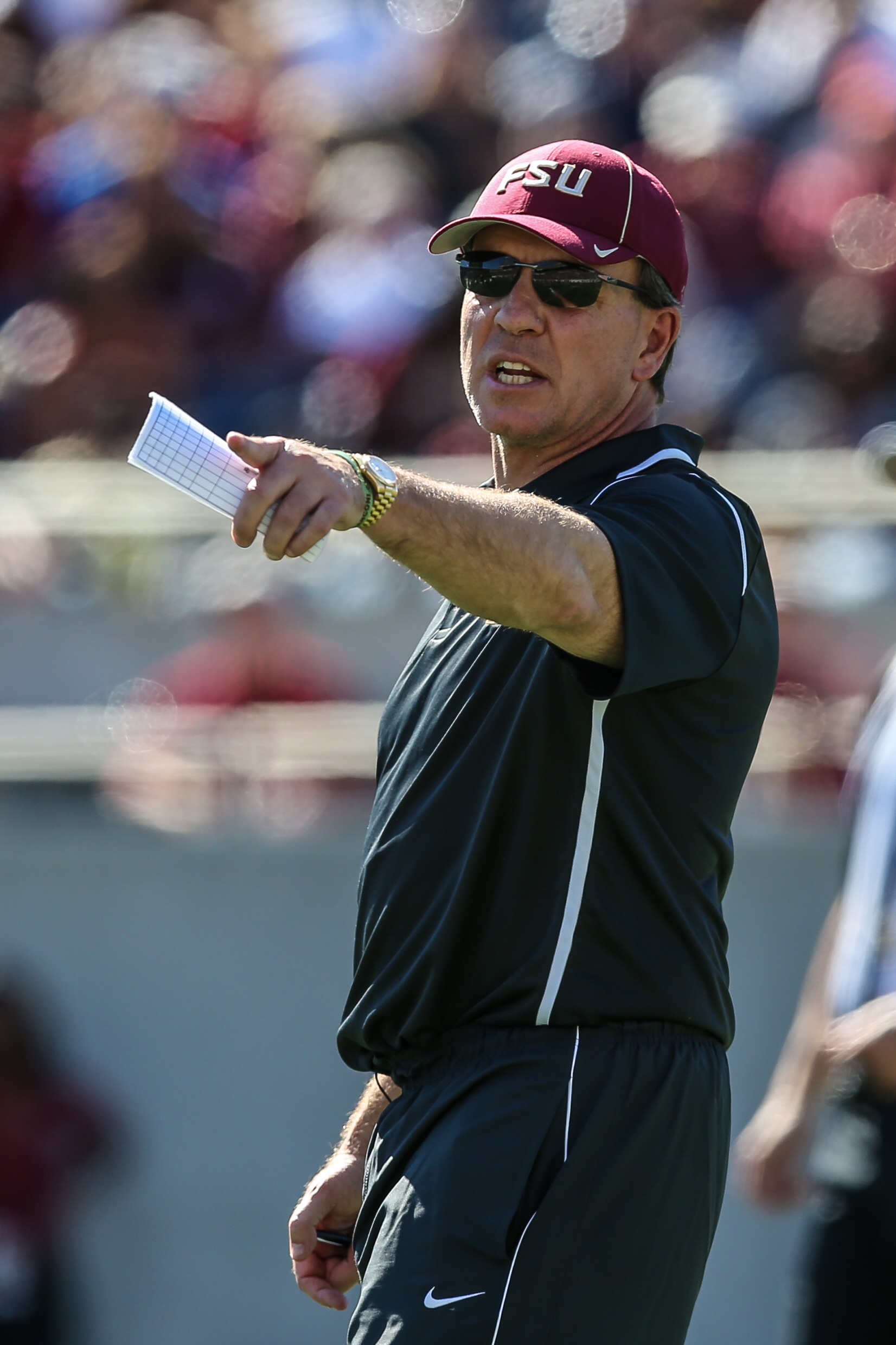 FSU coach Jimbo Fisher wasn't good enough on special teams../TRAVIS PENDERGRASS