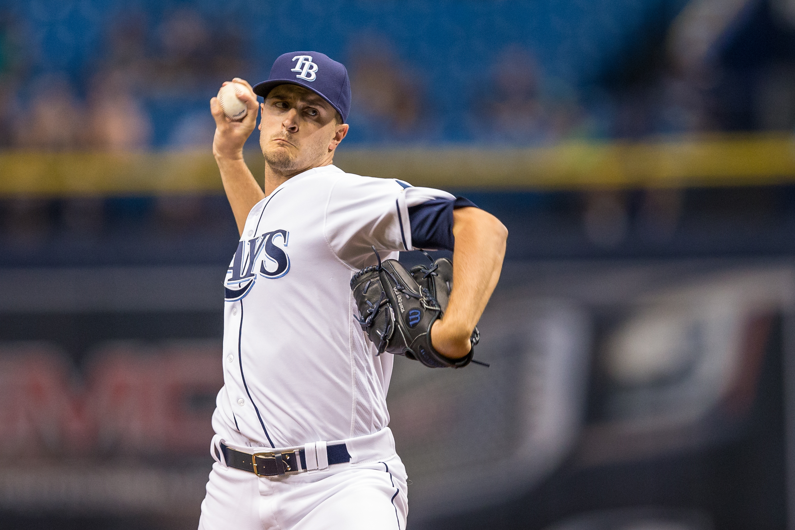 Odorizzi is 47th in the league in ERA./TRAVIS PENDERGRASS