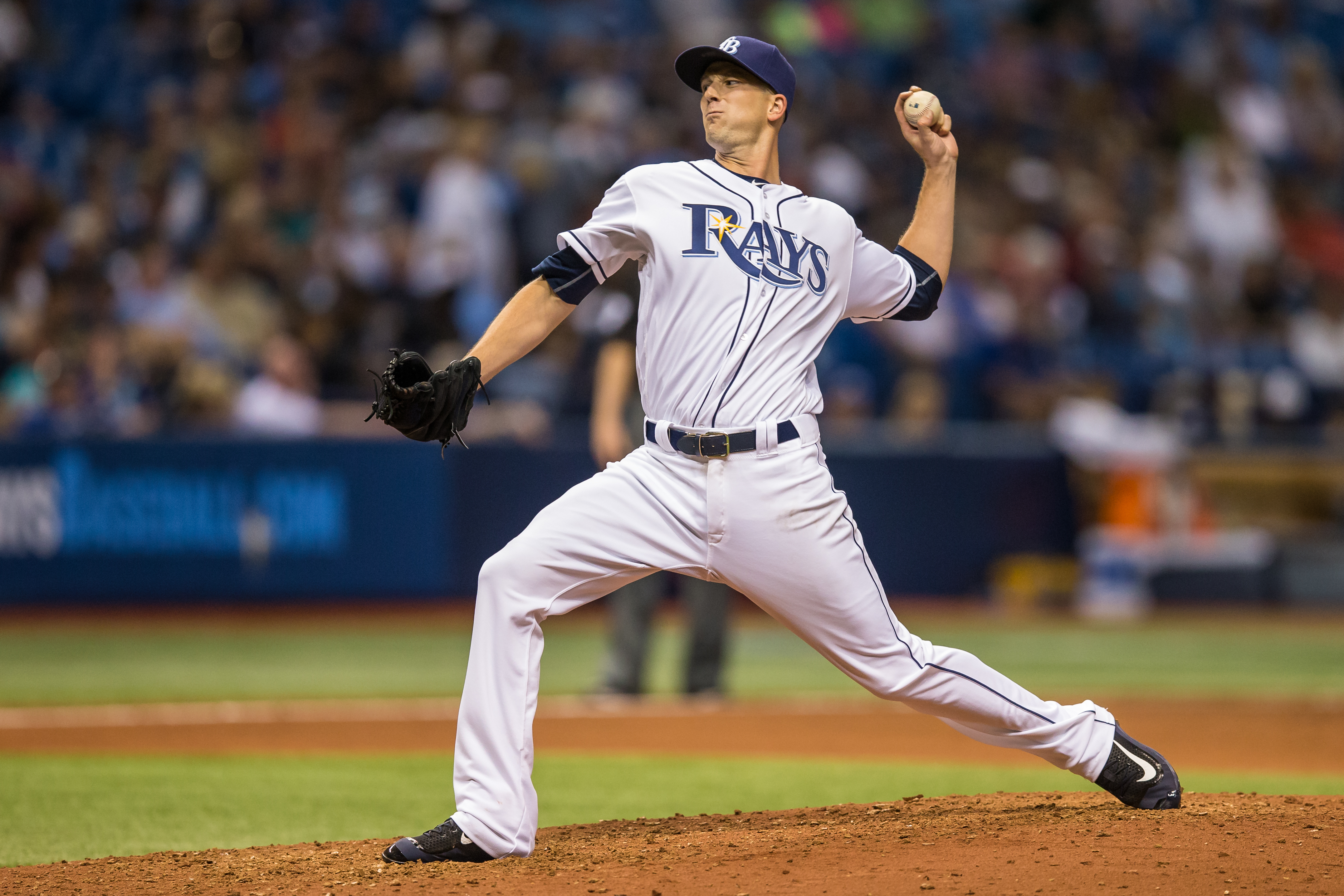 Smyly gave up two homers to lefties in loss to Blue Jays./TRAVIS PENDERGRASS