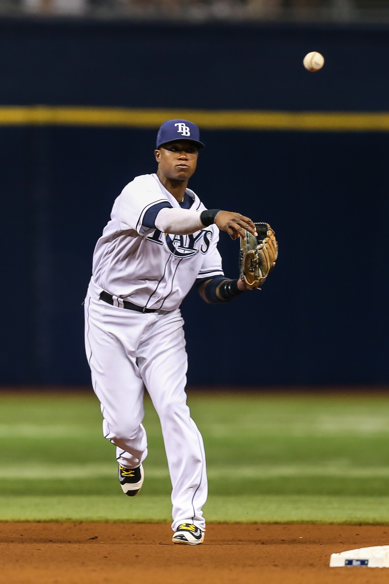 Tim Beckham will play more now that Logan Forsythe has a hairline fracture./TRAVIS PENDERGRASS