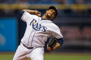 Colome saved 37 games for the Rays in '16./TRAVIS PENDERGRASS