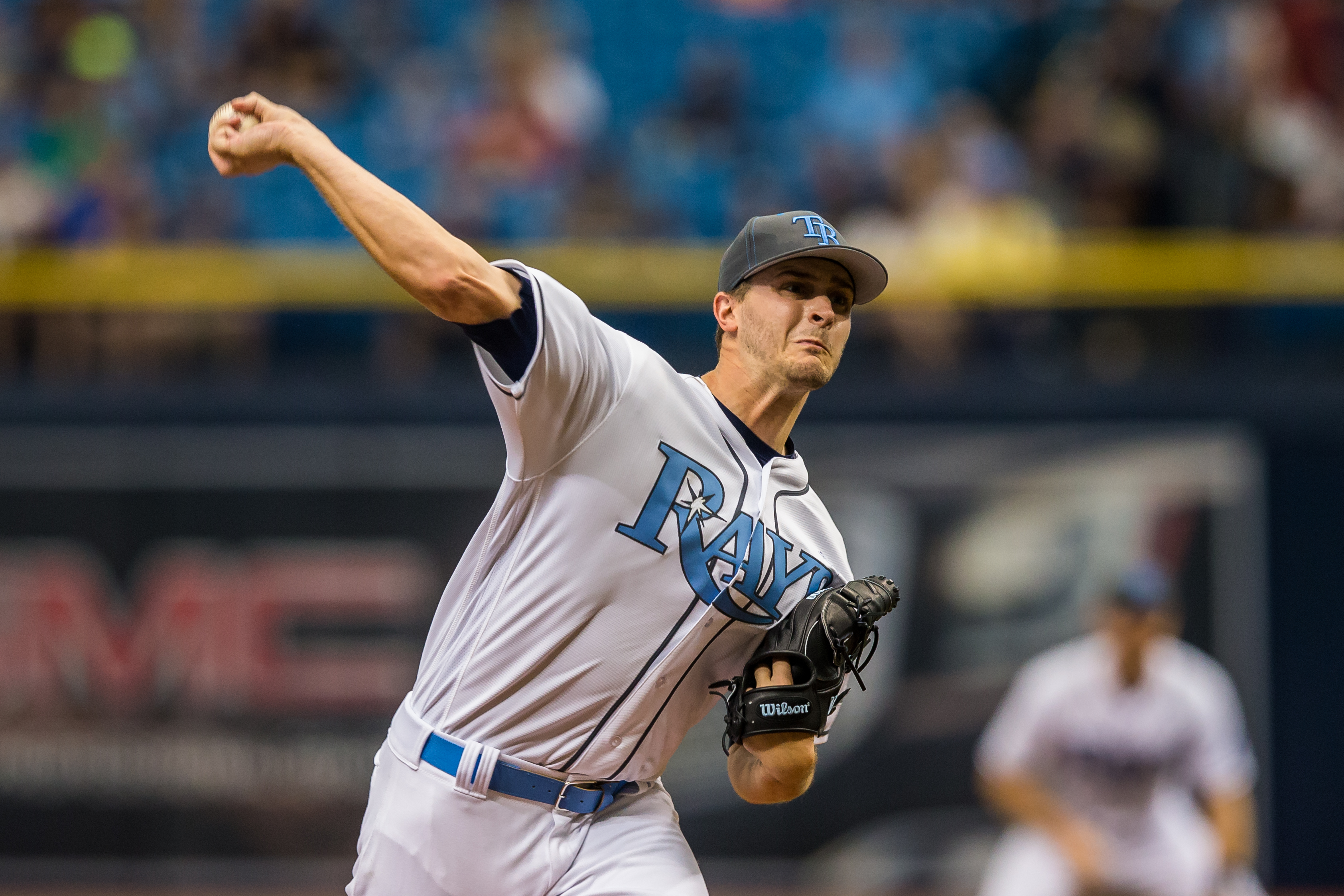 Odorizzi led the Rays' pitchers in wins with 10./TRAVIS PENDERGRASS
