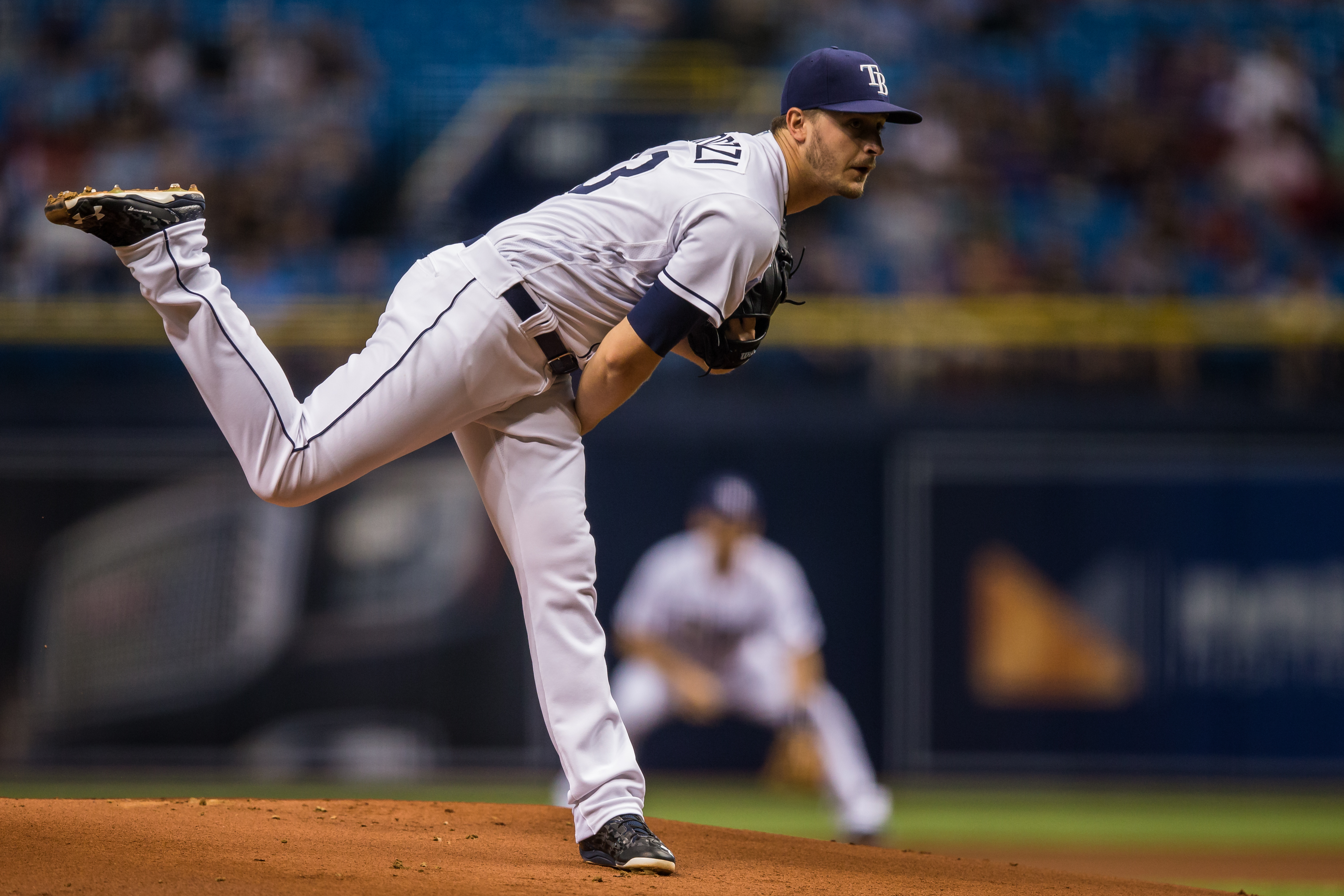 Odorizzi has thrown back-to-back shutouts for Rays./TRAVIS PENDERGRASS