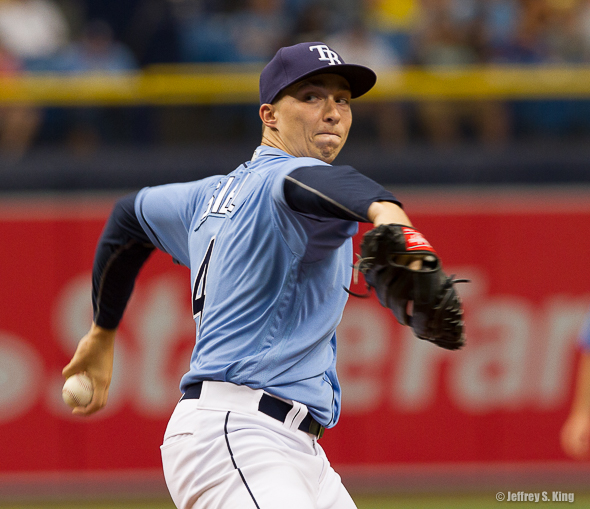 Snell improved his record to 3-4 and struck out nine.