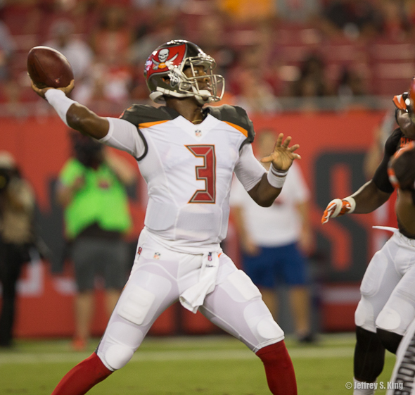 How do you quantify Winston's progress at quarterback?./TRAVIS PENDERGRASS