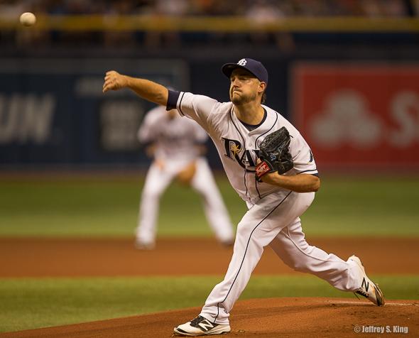 Andrews threw six innings of three-run baseball.