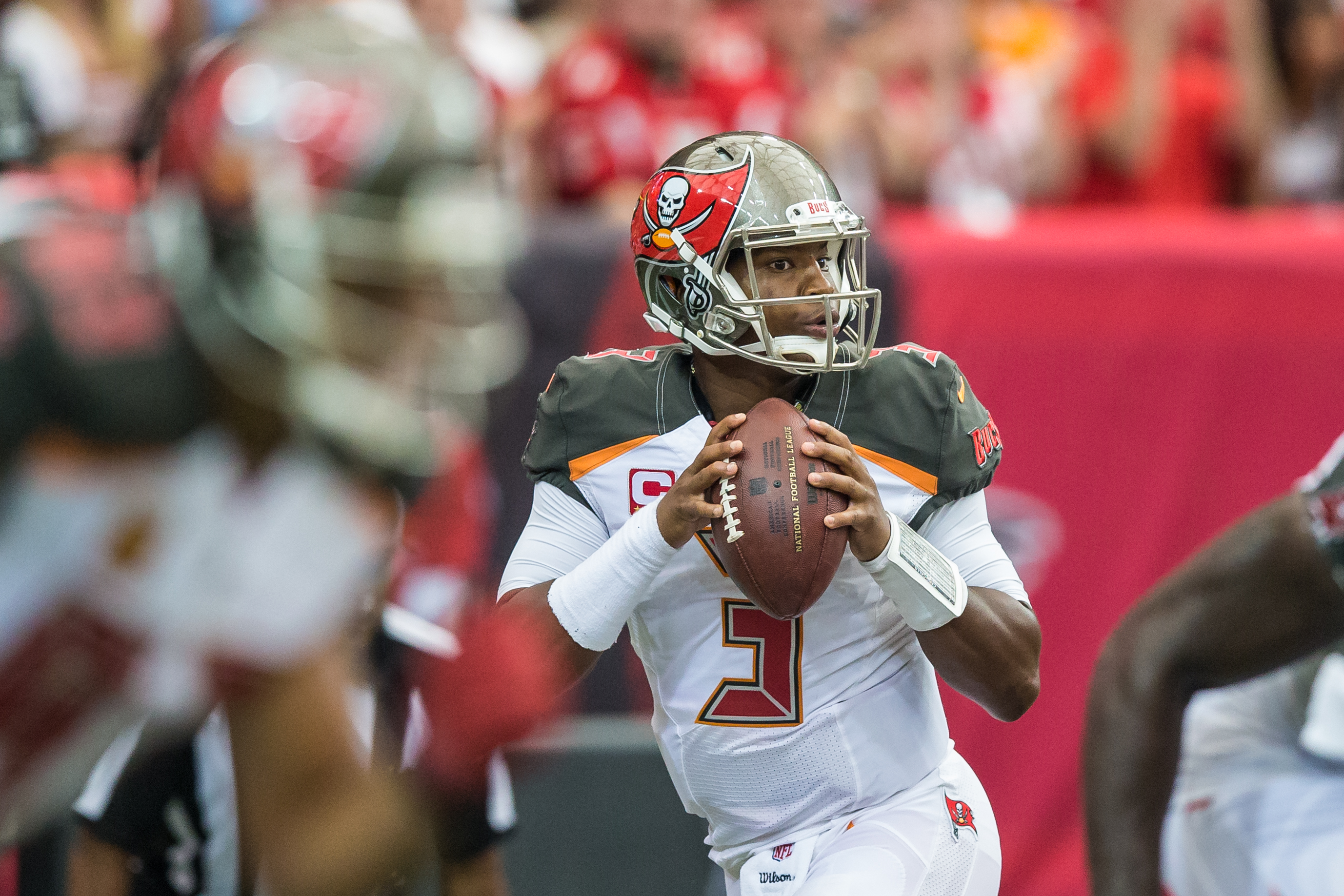 Jameis Winston has to protect the ball better./TRAVIS PENDERGRASS