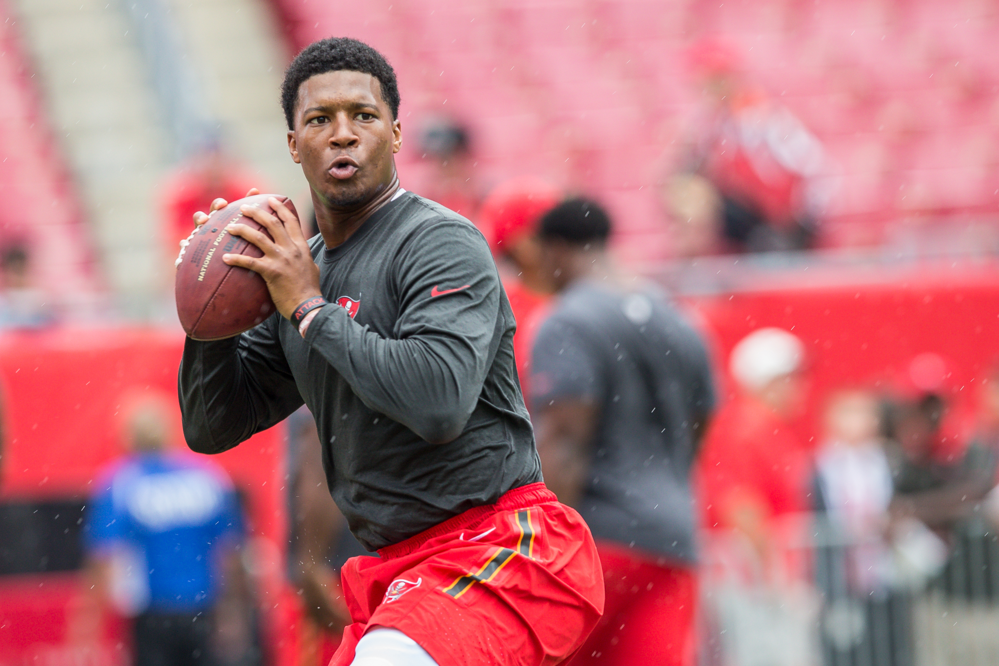 Jameis Winston continues to lead the Bucs./TRAVIS PENDERGRASS