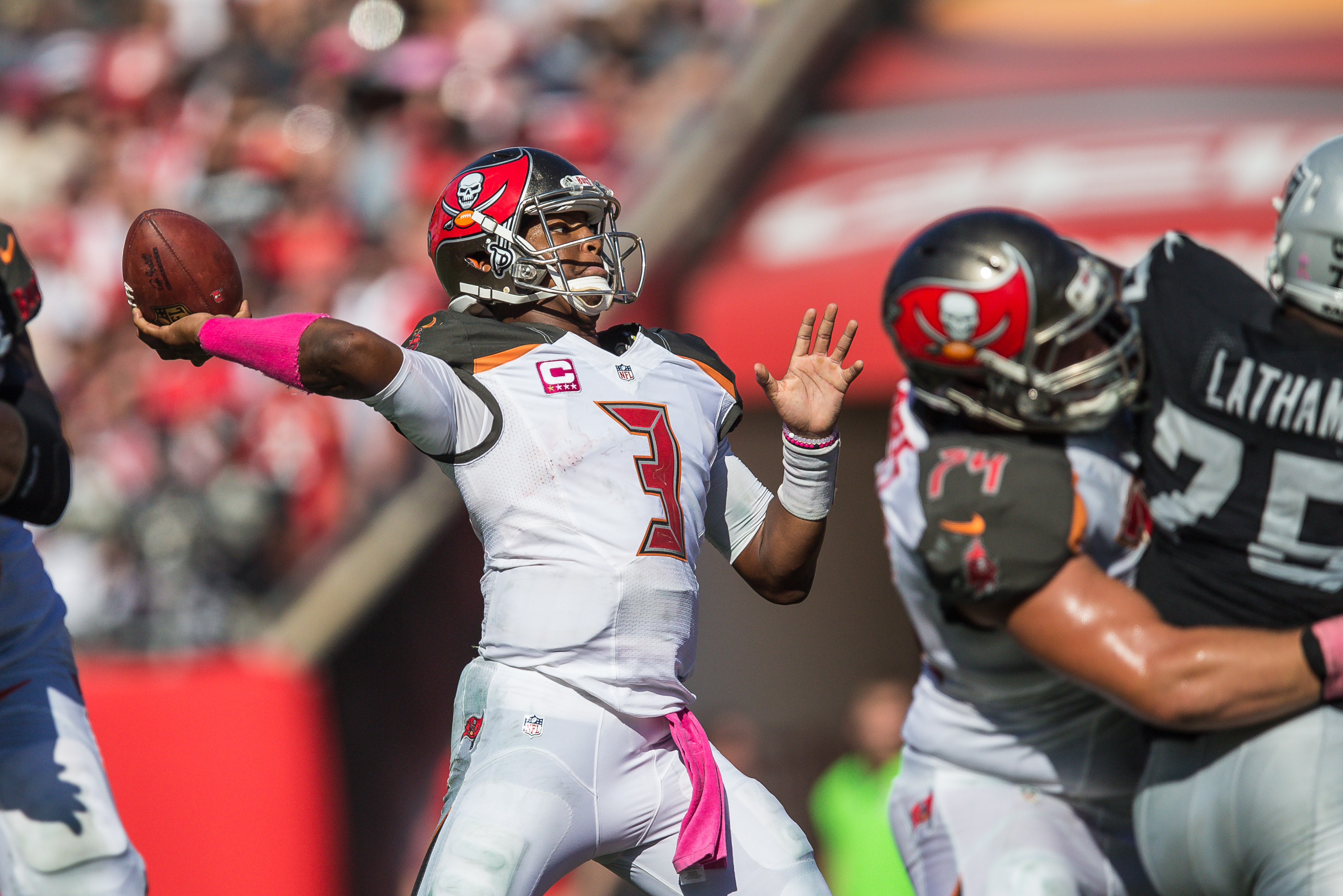 The Bucs finally have the ability on offense to be scary../TRAVIS PENDERGRASS