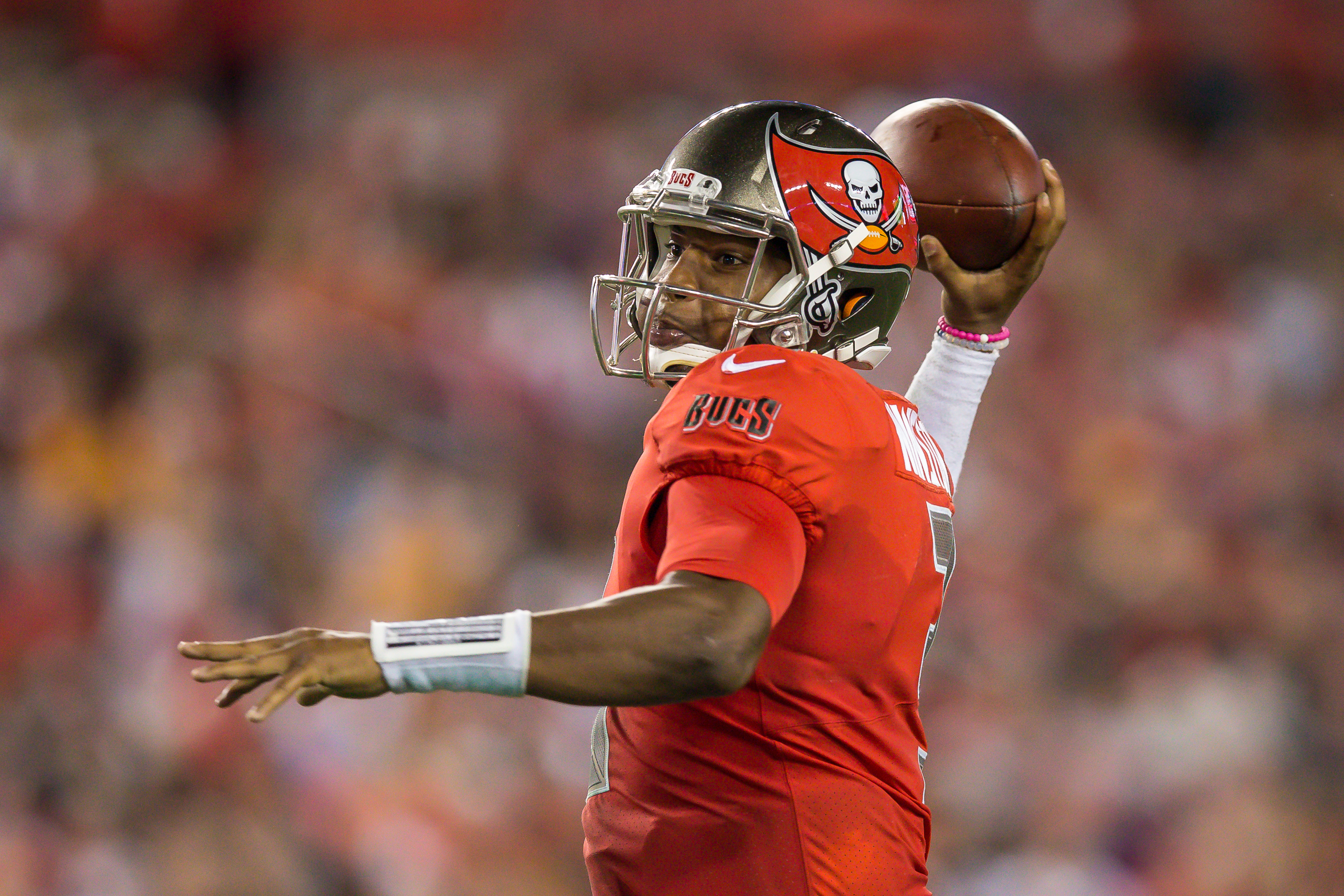 The Bucs depended on Winston to save them from losses too often../TRAVIS PENDERGRASS