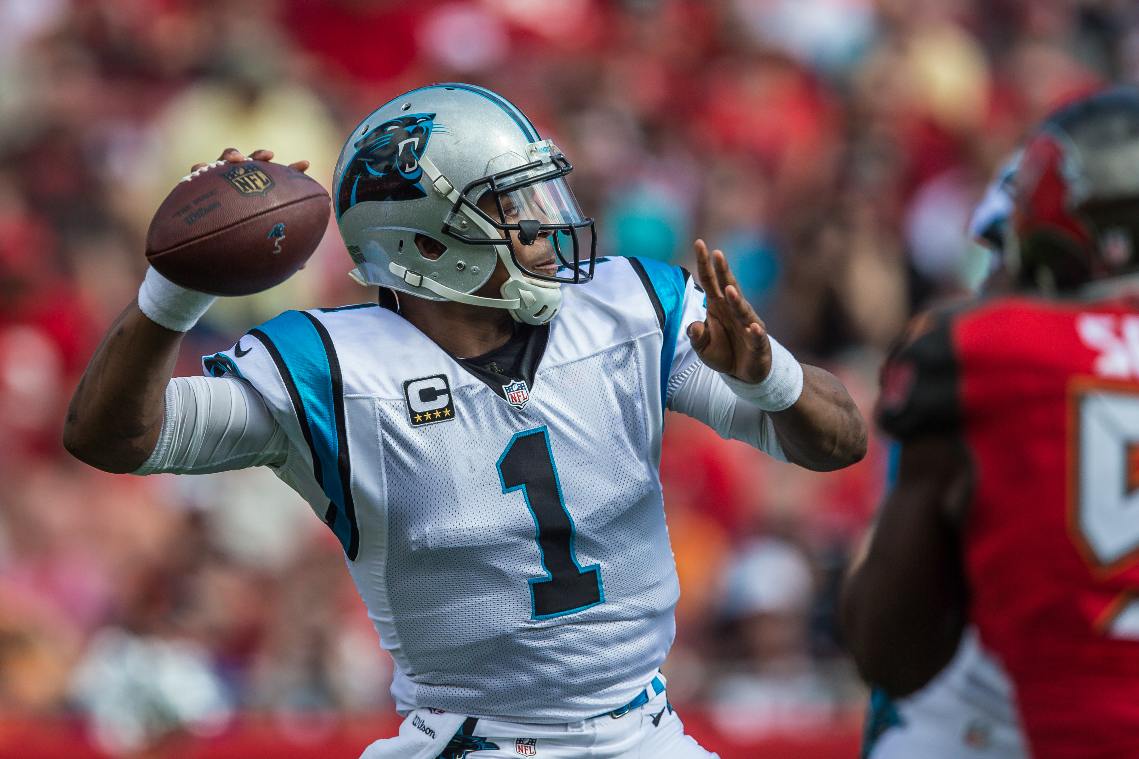 Cam Newton is among the best Panthers./STEVE MUNCIE