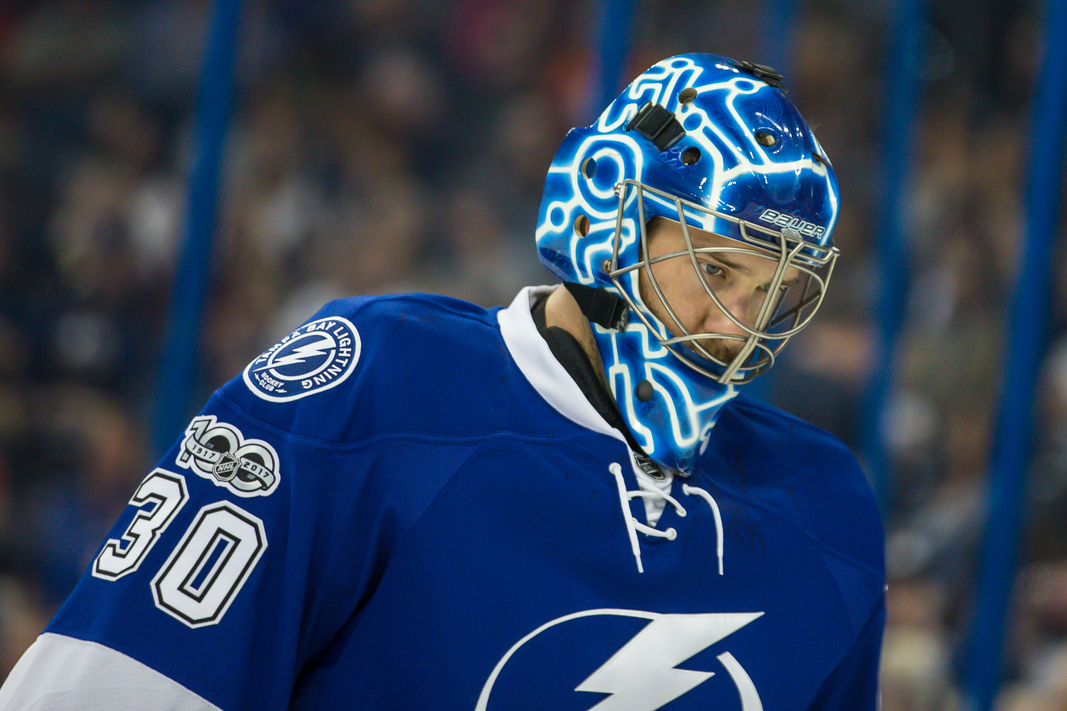 Bishop's return helped the Lightning break a streak./TRAVIS PENDERGRASS