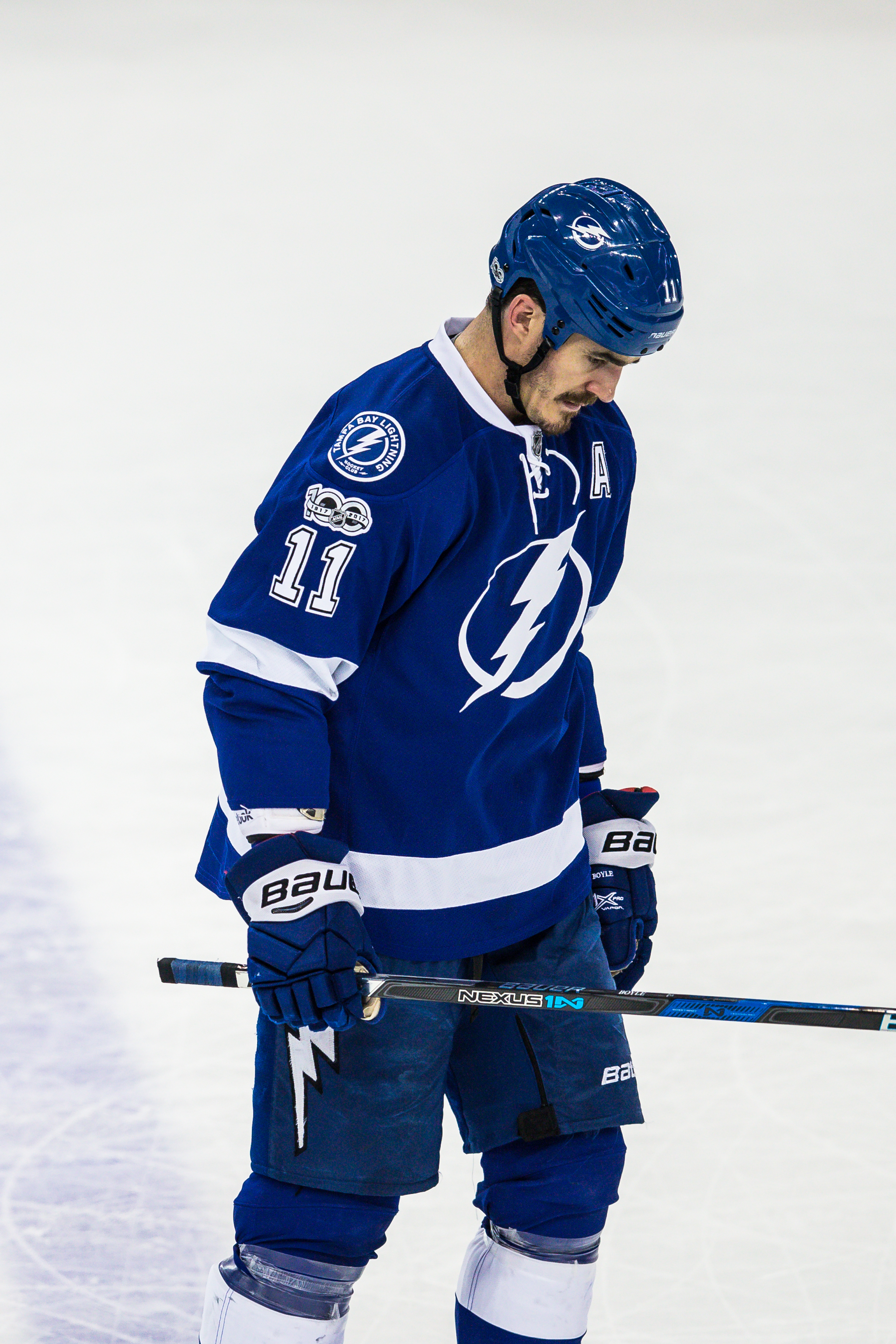 Tampa Bay's Brian Boyle helped the Bolts point in their seventh straight game./TRAVIS PENDERGRASS
