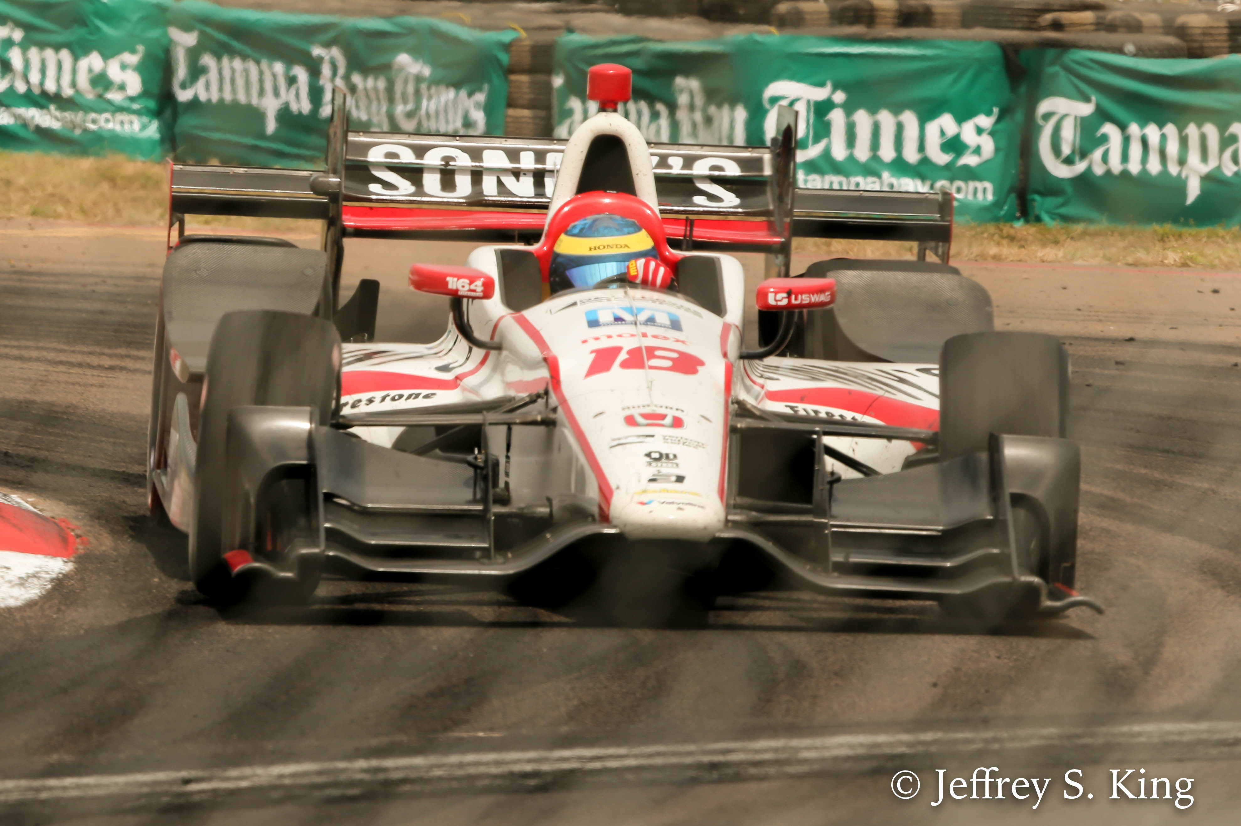Bourdais went from worst-to-first for the victory./JEFFREY S. KING