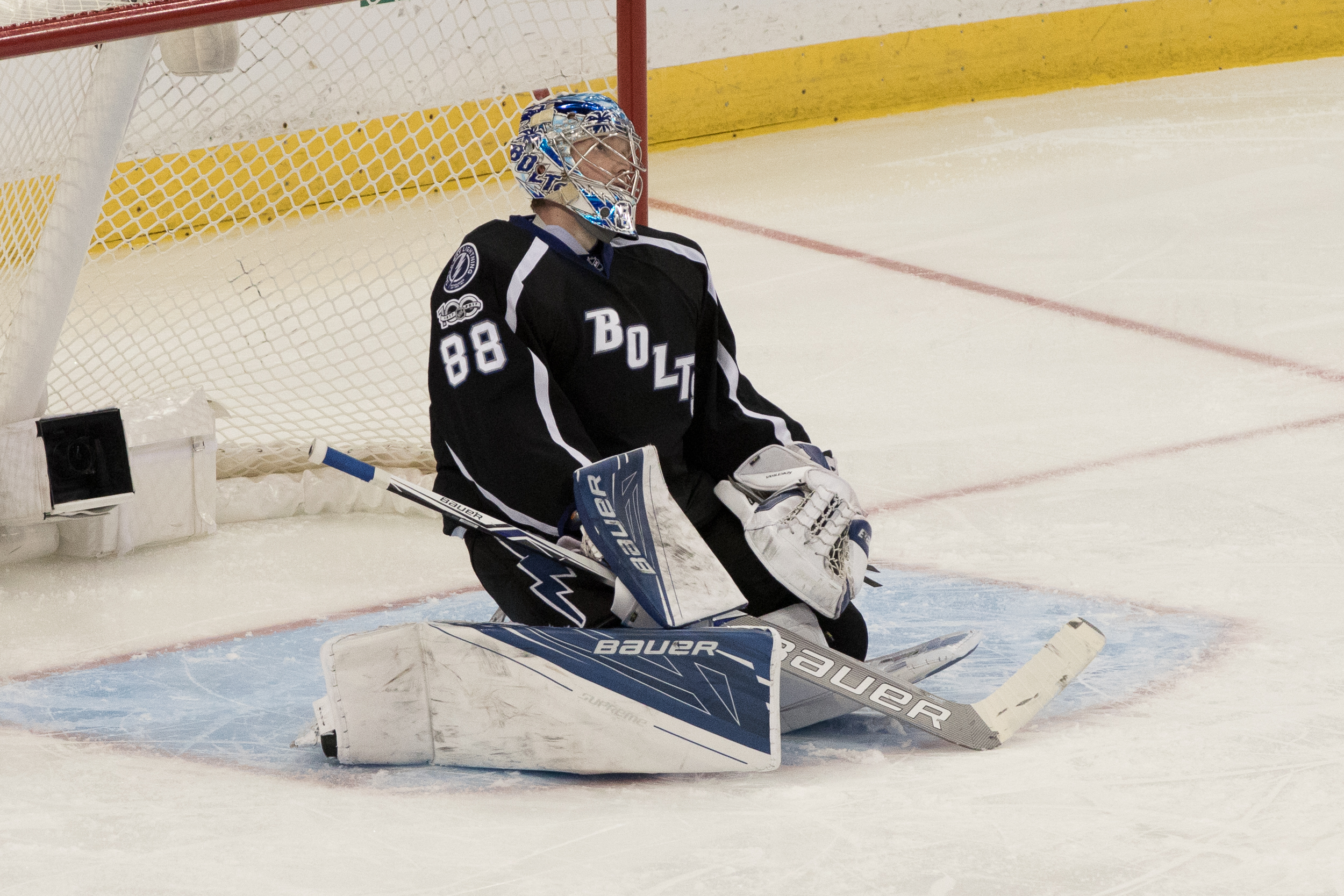 Andrei Vasilevskiy has to be better../Steven Muncie