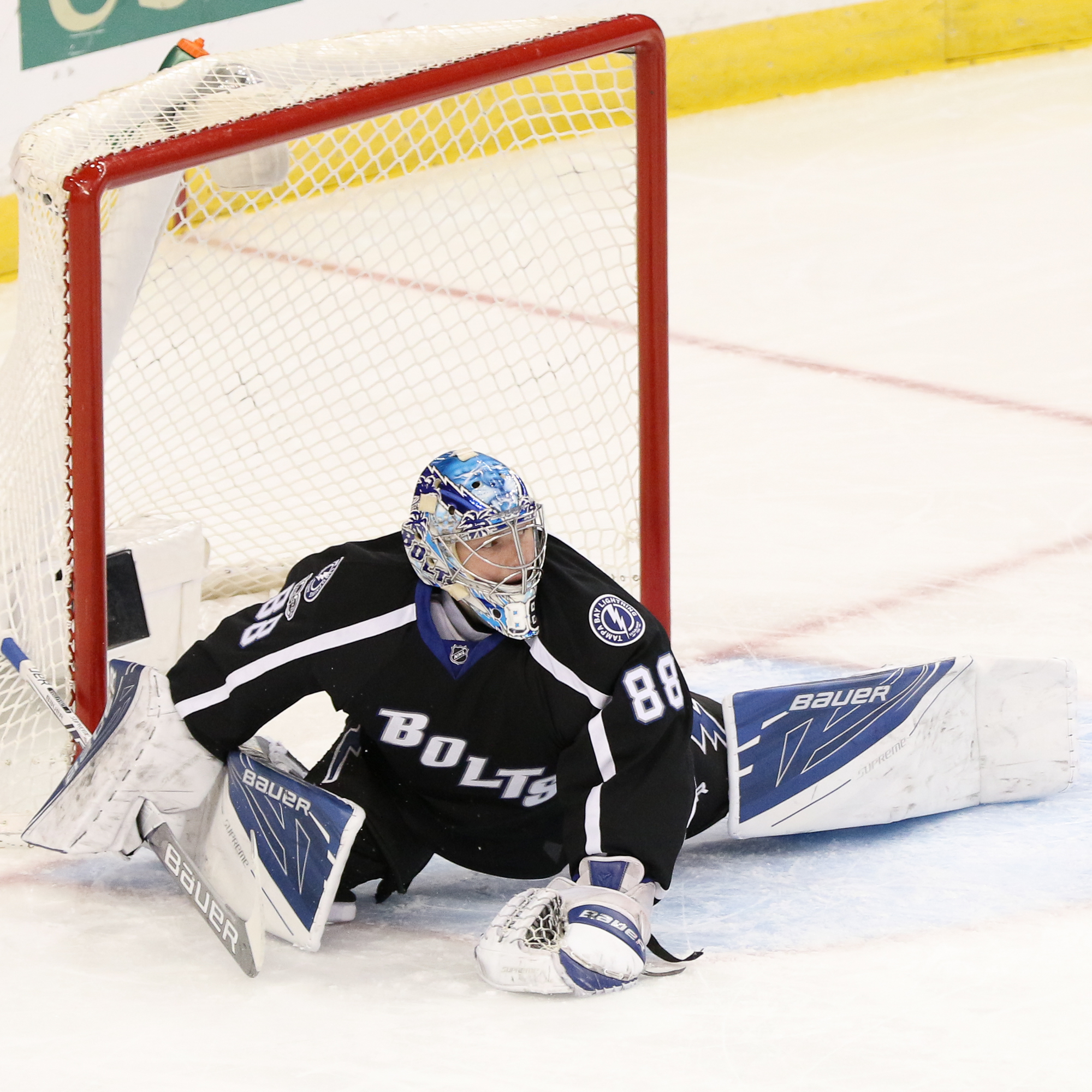 Andrei Vasilevskiy needs to get on a hot streak./Steven Muncie