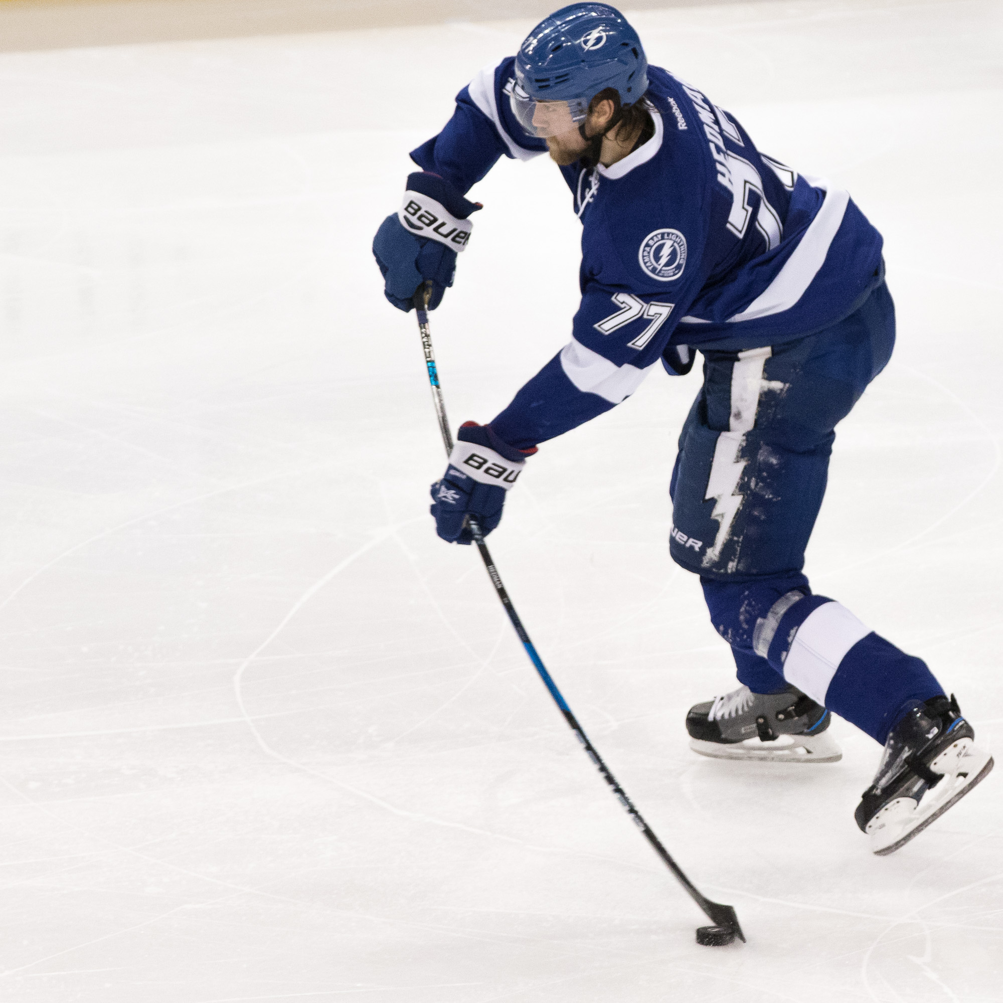 Victor Hedman still leads to the Bolts' defense../Steven Muncie