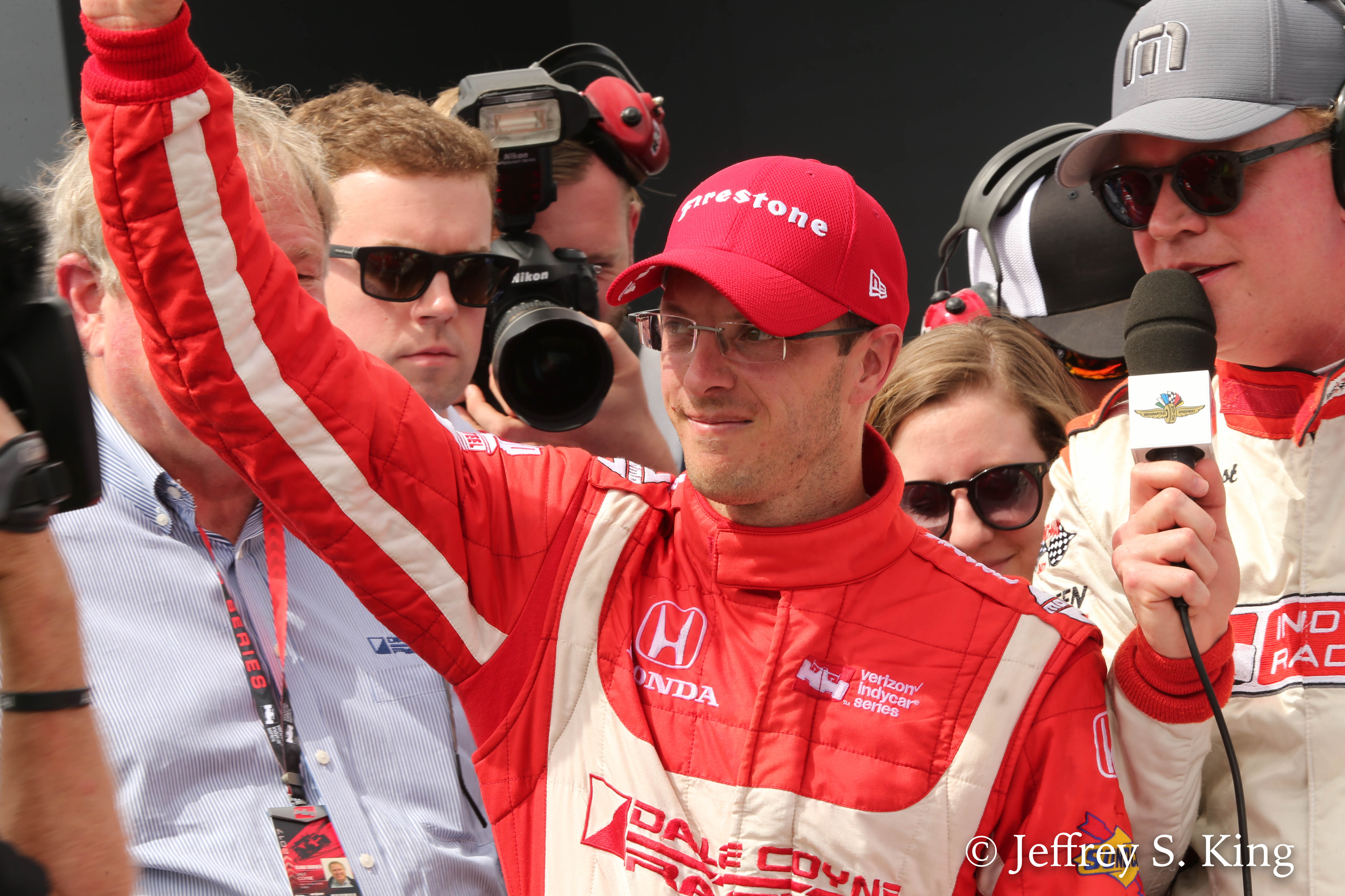 Bourdaia won the Grand Prix on his home course./JEFFREY S. KING