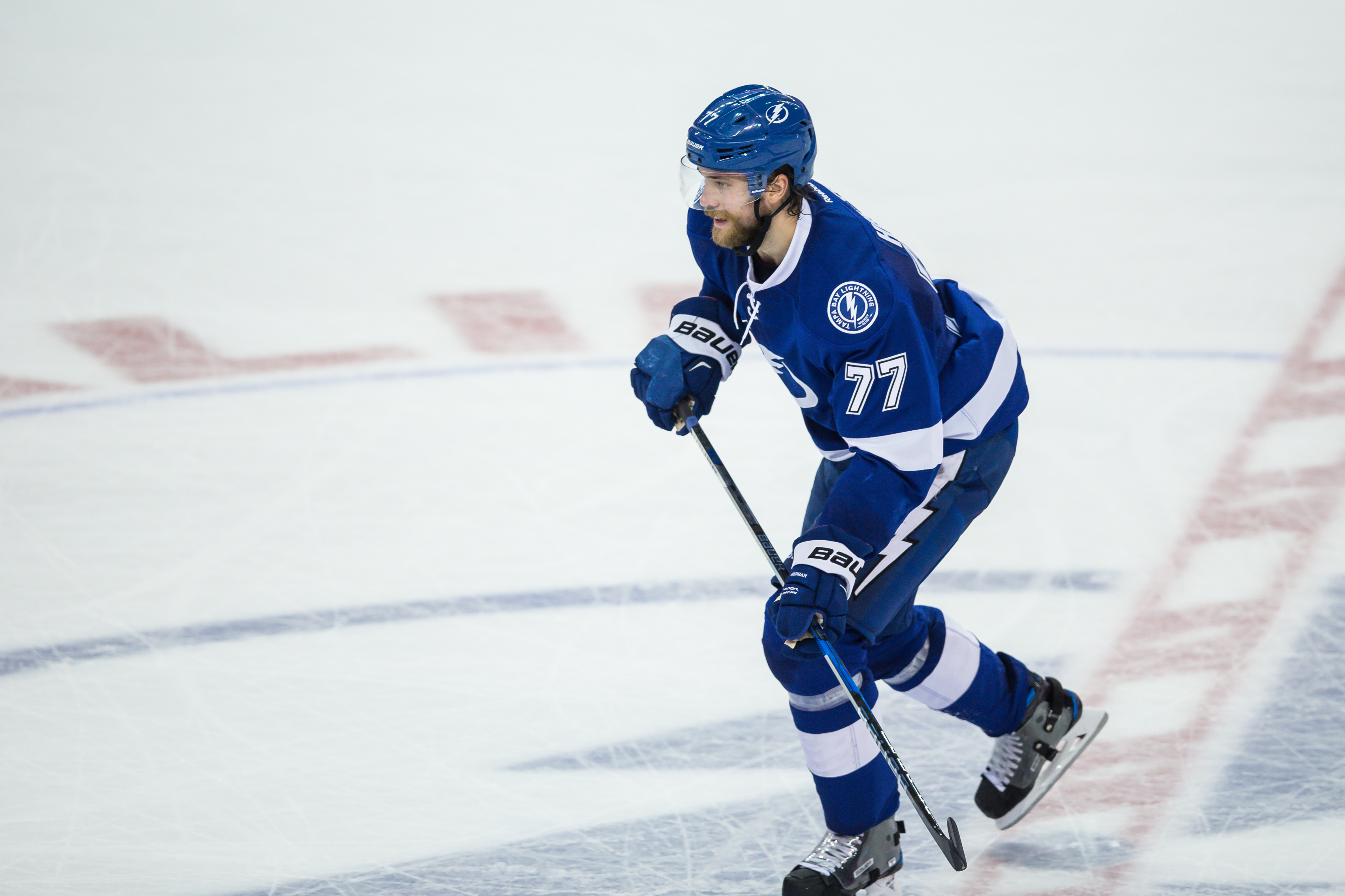 Herman scored two goals, including the game-winner, for Bolts. /TRAVIS PENDERGRASS