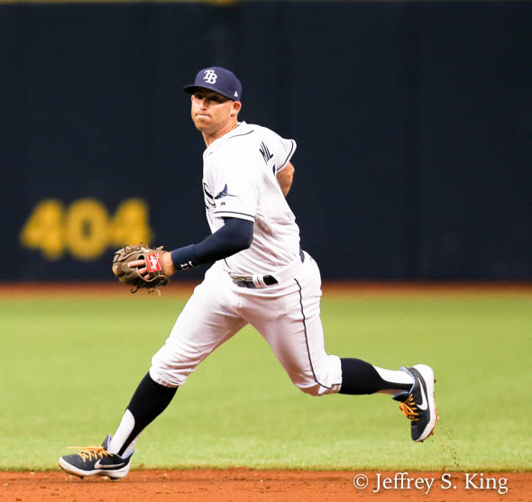 Miller on the move for Tampa Bay./JEFFREY S. KING