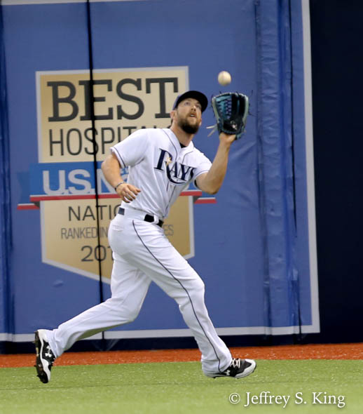 Souza closed things out with a three-run homer in the ninth./JEFFREY S. KING