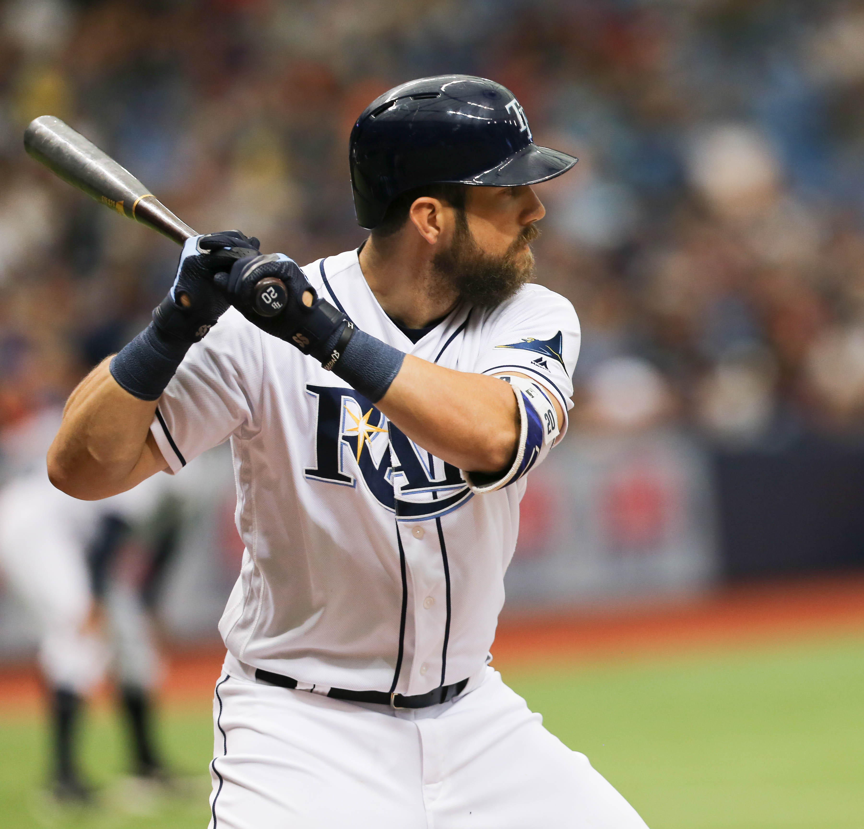Souza knocked in the tying run in the ninth./STEVEN MUNCIE