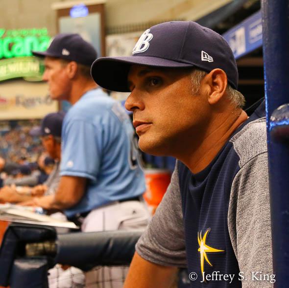 Cash watched his season slilp away./JEFFREY S. KING